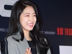 Park Shin Hye rạng rỡ đến ủng hộ 'người tình' Hyun Bin