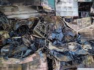 Bên trong hiện trường vụ cháy gần bệnh viện Nhi