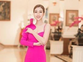 Màn diễn của hoa hậu Mỹ Linh đêm chung kết bị cắt sóng vì phục trang quá ngắn?