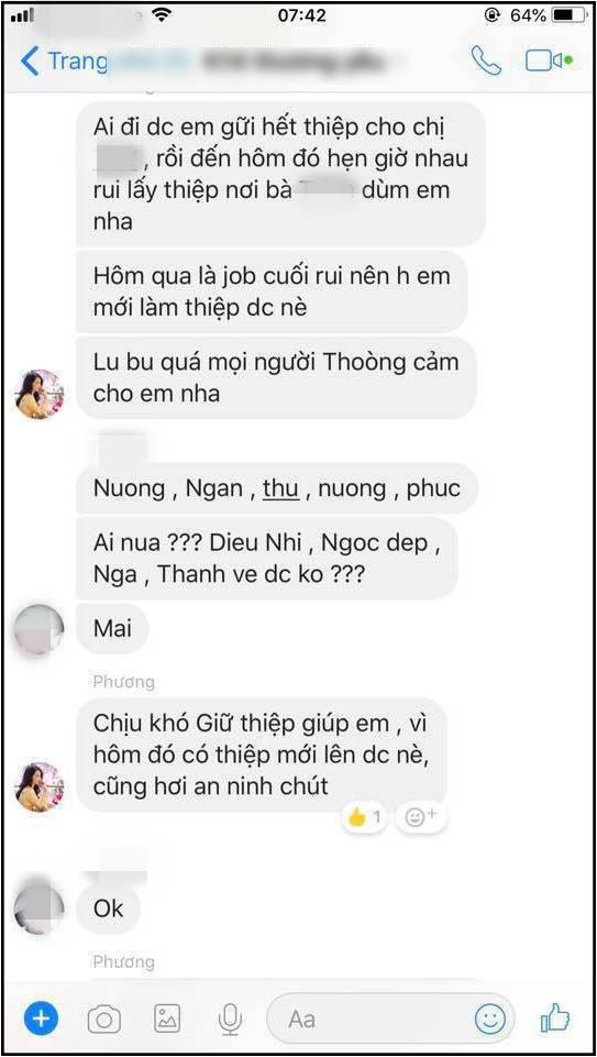 Rò rỉ tin nhắn Nhã Phương mời cưới hội bạn thân, yêu cầu khi đi mang theo thiệp mời mới được vào cửa-1