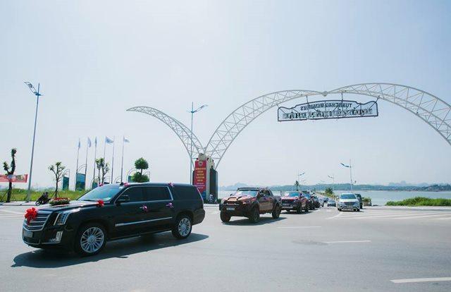 Choáng ngợp trước dàn siêu xe trong lễ ăn hỏi của cặp trai Quảng Ninh, gái Hải Phòng-5