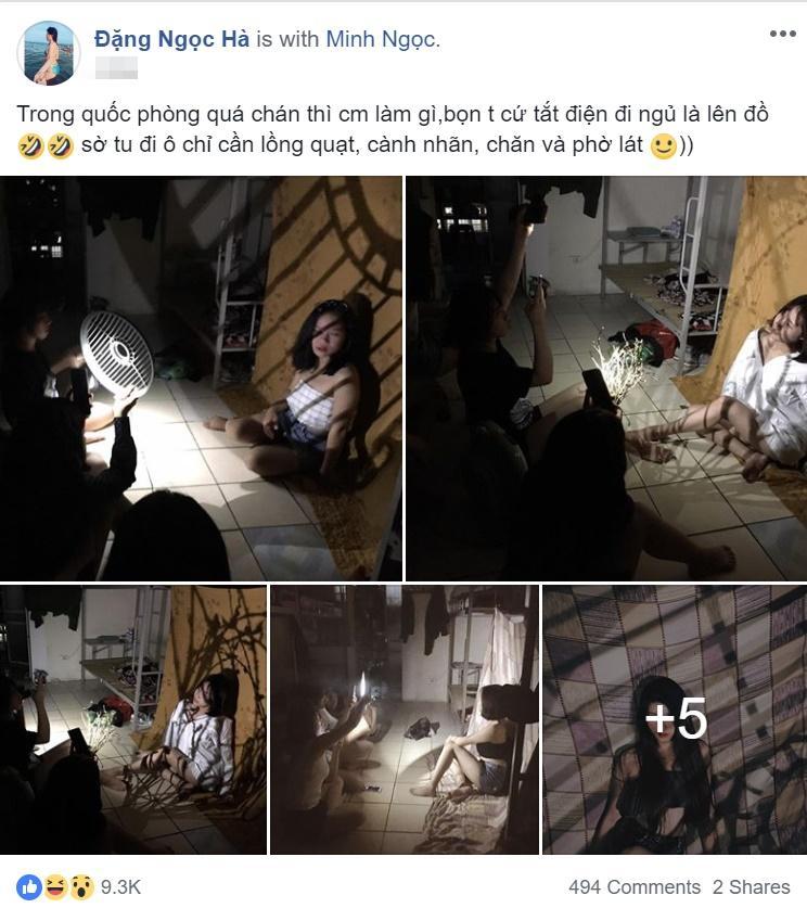 Bài viết được cô bạn Đặng Ngọc Hà chia sẻ trên mạng xã hội nhanh chóng nhận hơn 9 nghìn yêu thích.