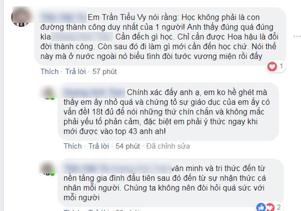 Tranh cãi vì bảng điểm bết bát và phát ngôn học không là con đường duy nhất của tân Hoa hậu Việt Nam 2018 Trần Tiểu Vy-3