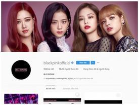 BLACK PINK chính thức trở thành girlgroup được theo dõi nhiều nhất hành tinh trên Instagram