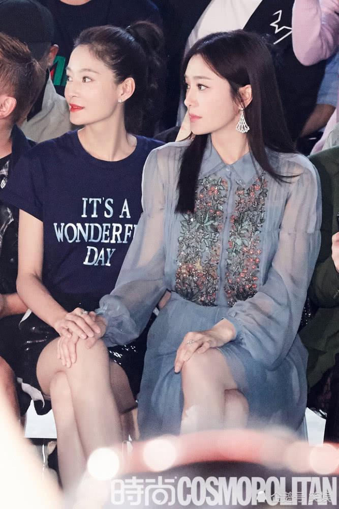 Cặp đối thủ Phú Sát hoàng hậu Tần Lam - Đổng Khiết đọ sắc bất phân thắng bại tại Tuần lễ thời trang Milan-7