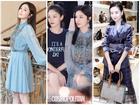 Cặp đối thủ 'Phú Sát hoàng hậu' Tần Lam - Đổng Khiết đọ sắc bất phân thắng bại tại Tuần lễ thời trang Milan