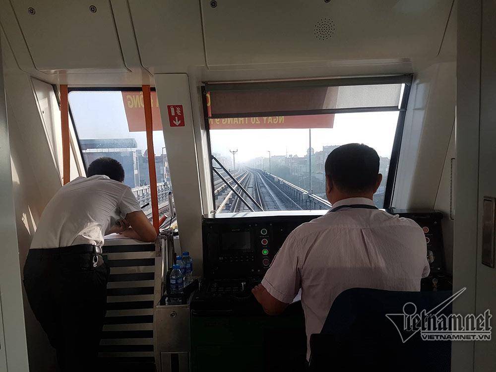 Một mình 1 đường, tàu từ Hà Đông đến Cát Linh hết 30 phút-8