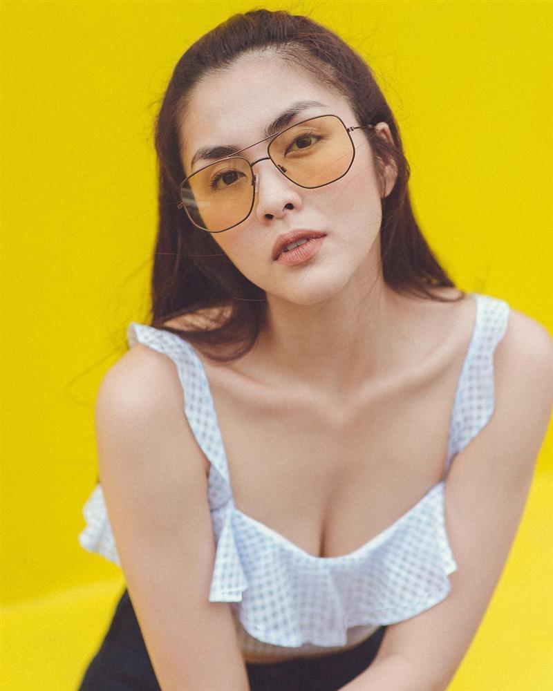 Lâu lắm rồi người mến mộ Tăng Thanh Hà mới lại được xem ảnh cô Trúc khoe ngực căng đầy sexy đến thế!-1