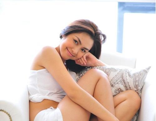 Lâu lắm rồi người mến mộ Tăng Thanh Hà mới lại được xem ảnh cô Trúc khoe ngực căng đầy sexy đến thế!-7