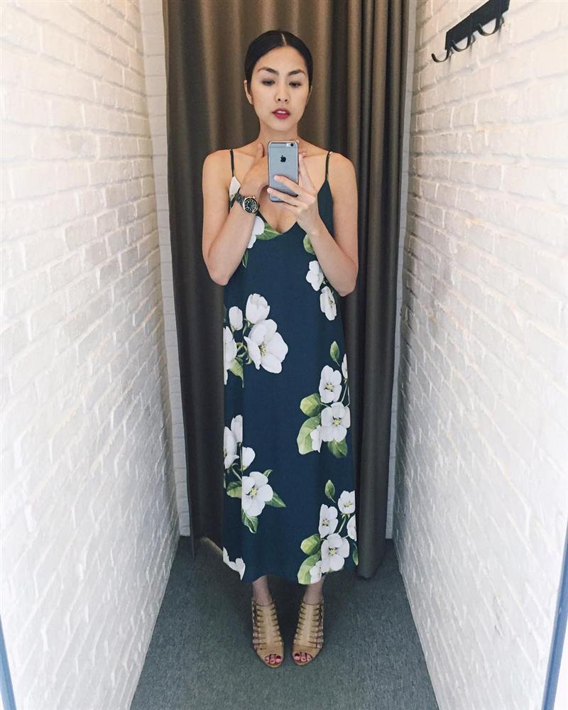 Lâu lắm rồi người mến mộ Tăng Thanh Hà mới lại được xem ảnh cô Trúc khoe ngực căng đầy sexy đến thế!-8