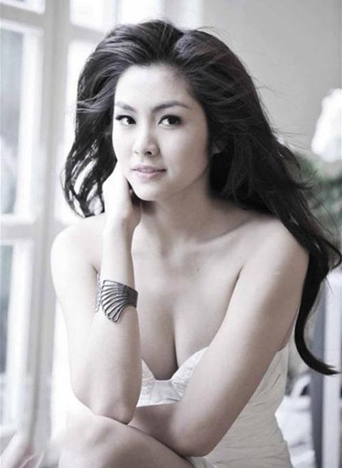 Lâu lắm rồi người mến mộ Tăng Thanh Hà mới lại được xem ảnh cô Trúc khoe ngực căng đầy sexy đến thế!-6