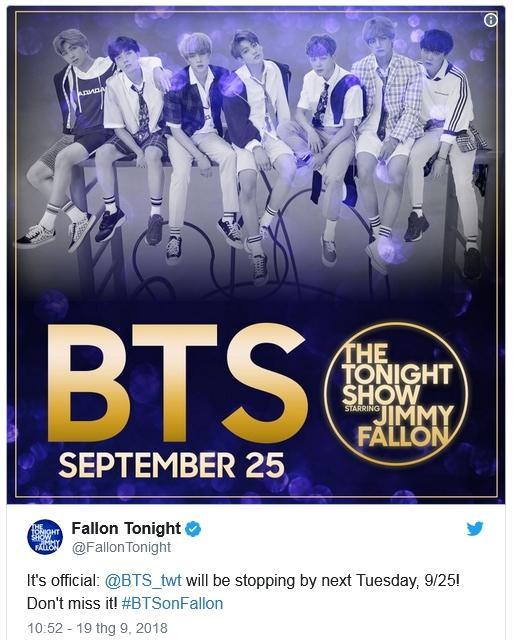 Lịch trình chẳng kém gì sao Hollywood: BTS - cái tên tâm điểm tại Quảng trường Thời đại!-1