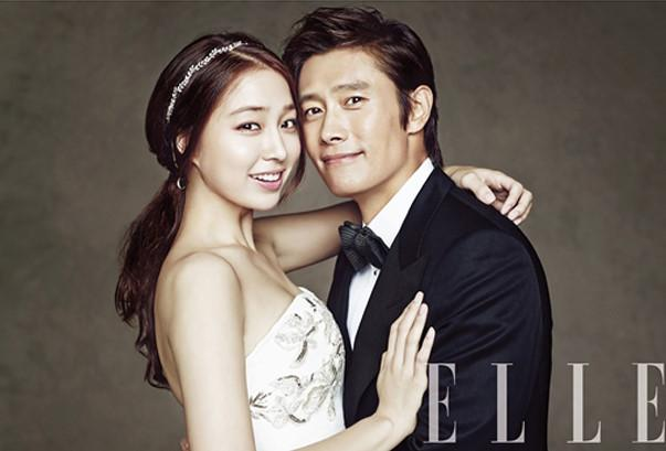 Hình ảnh duy nhất lộ mặt con trai của tài tử Iris Lee Byung Hun và vợ Lee Min Jung-3