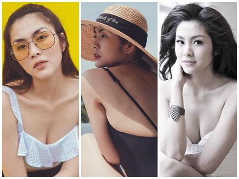 Lâu lắm rồi người mến mộ Tăng Thanh Hà mới lại được xem ảnh cô Trúc khoe ngực căng đầy sexy đến thế!