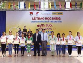 115 học bổng tặng HS dân tộc thiểu số tỉnh Cao Bằng