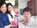 Hoa hậu Đặng Thu Thảo khoe bữa ăn rau củ đầu tiên của con gái-10