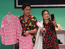 Trổ tài bán hàng online, Trấn Thành - hot girl Sam bị khách mắng sấp mặt