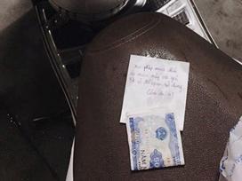 Lấy áo mưa của người lạ và để lại 5.000 đồng: Làm thế đúng hay sai?