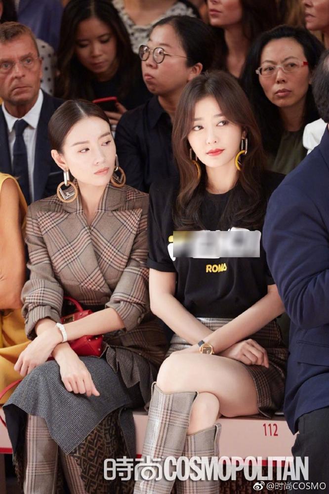 Hai Phú Sát hoàng hậu Tần Lam và Đổng Khiết đọ sắc trong cùng khung hình-1
