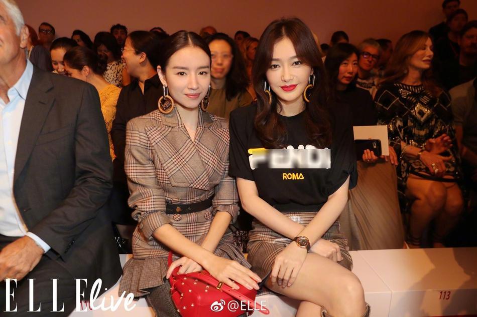 Hai Phú Sát hoàng hậu Tần Lam và Đổng Khiết đọ sắc trong cùng khung hình-2