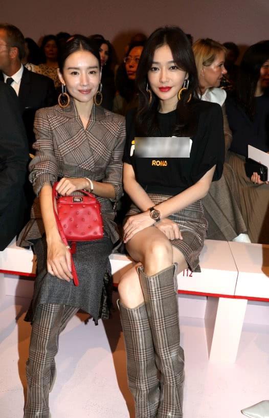 Hai Phú Sát hoàng hậu Tần Lam và Đổng Khiết đọ sắc trong cùng khung hình-4