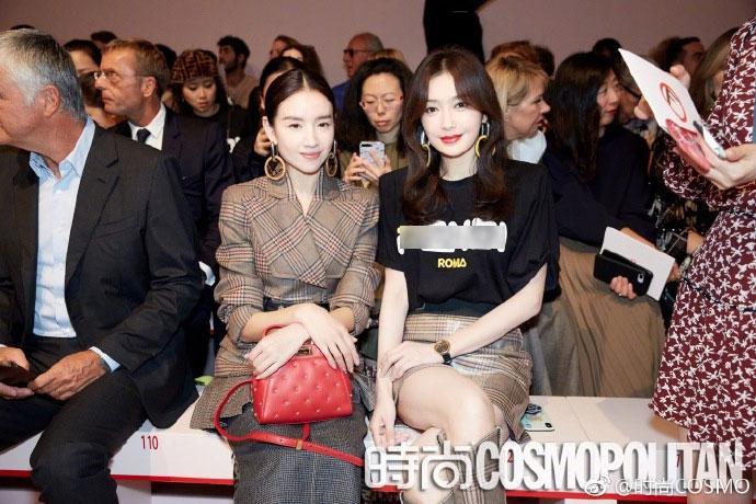 Hai Phú Sát hoàng hậu Tần Lam và Đổng Khiết đọ sắc trong cùng khung hình-5