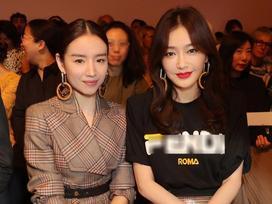 Hai 'Phú Sát hoàng hậu' Tần Lam và Đổng Khiết đọ sắc trong cùng khung hình