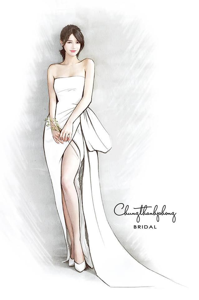 Tiết lộ chiếc váy đặc biệt Nhã Phương sẽ mặc trong tiệc cưới với Trường Giang-1