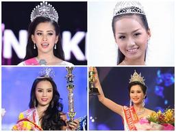 Ngắm lại thời khắc đăng quang của dàn Hoa hậu Việt Nam từ năm 1992 mới thấy nhan sắc Trần Tiểu Vy không phải dạng vừa