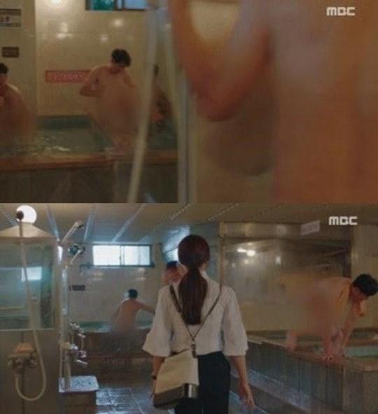 Đài truyền hình xin lỗi về cảnh phụ nữ vào nhà tắm nam-1