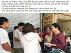NSND Lan Hương đến ủng hộ nạn nhân vụ cháy ở Đê La Thành, trao số tiền lớn