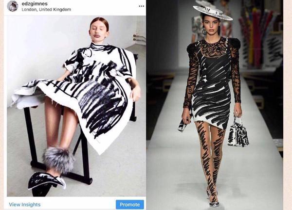 Ra mắt trong mùa Milan Fashion Week, BTS mới của Moschino dính nghi án đạo nhái-2