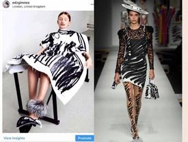 Ra mắt trong mùa Milan Fashion Week, BTS mới của Moschino dính nghi án đạo nhái