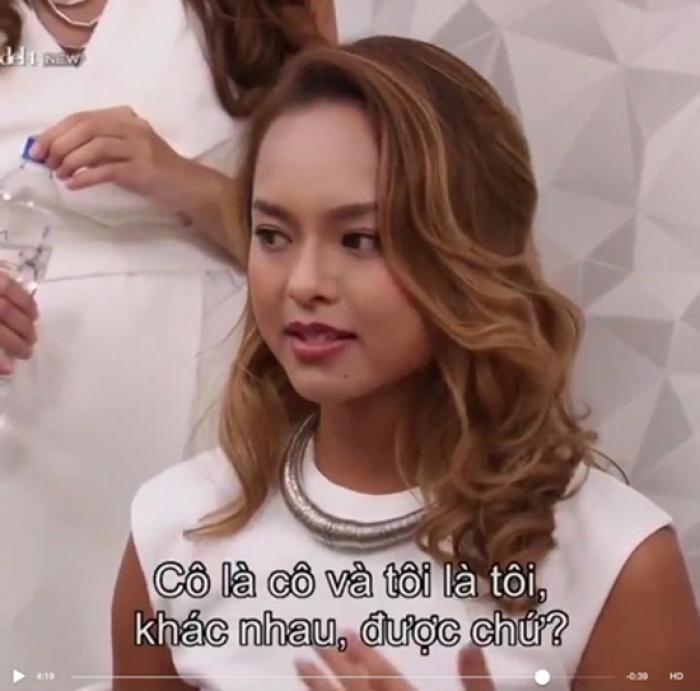 Qua rồi thời nhẫn nhịn làm ngơ, chân dài Việt cư xử ngày càng đốp chát tại Asias Next Top Model-3