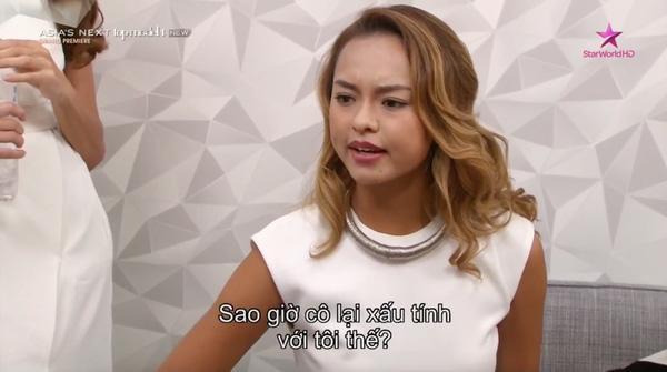 Qua rồi thời nhẫn nhịn làm ngơ, chân dài Việt cư xử ngày càng đốp chát tại Asias Next Top Model-4