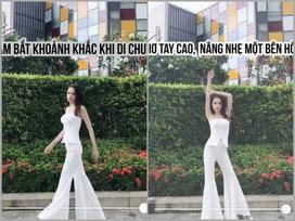 Nếu đang bí cách tạo dáng chụp ảnh, học hoa hậu Hương Giang lập tức bạn sẽ có bức ảnh triệu like