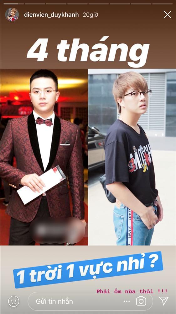 Duy Khánh tự đăng hàng loạt ảnh dìm hàng để khoe thành tích giảm cân-1