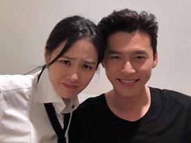 'Chị đẹp' Son Ye Jin khoe ảnh nhắng nhít bên mỹ nam Hyun Bin
