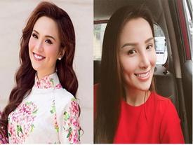 Hoa hậu Diễm Hương gây chú ý vì gương mặt khác lạ so với khi mới đăng quang