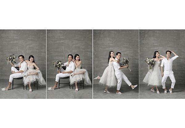 Những bộ ảnh cưới mang phong cách độc lạ của sao Việt-2