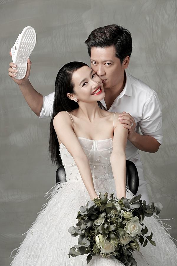Những bộ ảnh cưới mang phong cách độc lạ của sao Việt-3