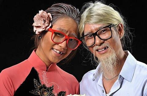 Những bộ ảnh cưới mang phong cách độc lạ của sao Việt-4