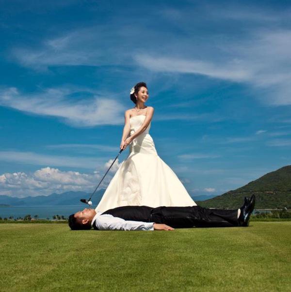 Những bộ ảnh cưới mang phong cách độc lạ của sao Việt-7