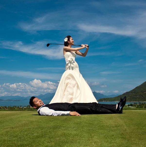 Những bộ ảnh cưới mang phong cách độc lạ của sao Việt-8