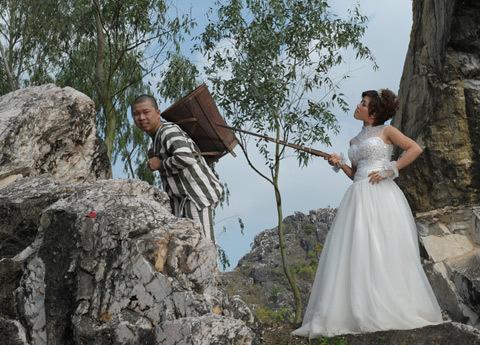 Những bộ ảnh cưới mang phong cách độc lạ của sao Việt-10