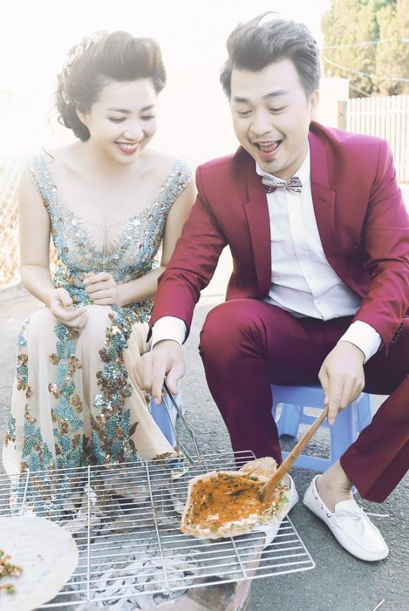 Những bộ ảnh cưới mang phong cách độc lạ của sao Việt-15