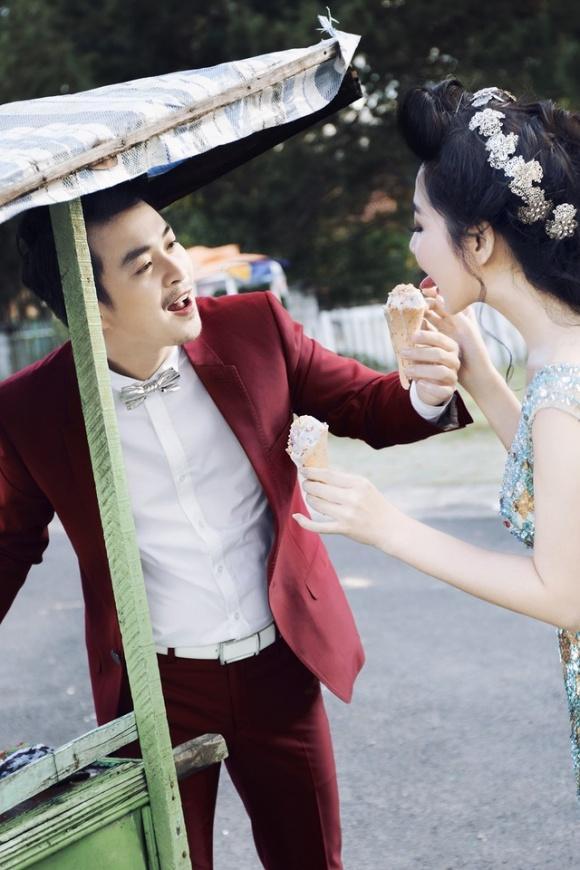 Những bộ ảnh cưới mang phong cách độc lạ của sao Việt-16