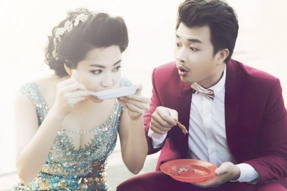Những bộ ảnh cưới mang phong cách độc lạ của sao Việt-18