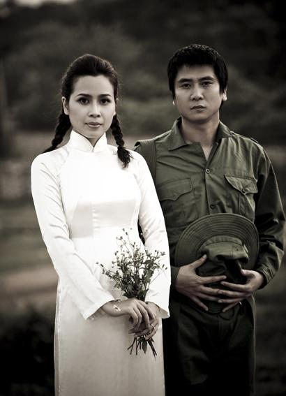 Những bộ ảnh cưới mang phong cách độc lạ của sao Việt-20