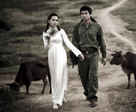 Những bộ ảnh cưới mang phong cách độc lạ của sao Việt-21